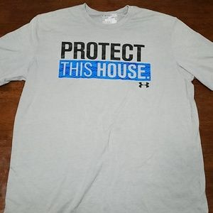Under Armour protect the house t-shirt